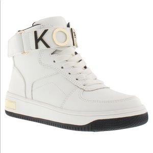 MK High Top Toddlers Sneakers Size 11 White New